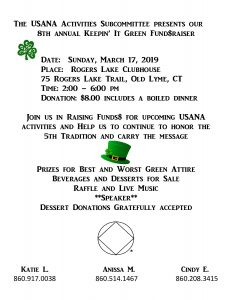 8th Annual Keepin' It Green Fundraiser @ Rogers Lake Clubhouse | Old Lyme | Connecticut | United States