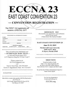 23rd East Coast Convention of NA @ Florida Gulf Coast University | Fort Myers | Florida | United States