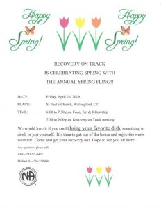 Recovery On Track Spring Fling @ St. Paul's Episcopal Church | Wallingford | Connecticut | United States