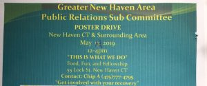 GNHA Public Relations Poster Drive @ Yale Health Center | New Haven | Connecticut | United States