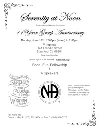 Serenity At Noon 11th Anniversary @ Inspirica | Stamford | Connecticut | United States