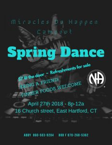 Miracles Do Happen Spring Dance