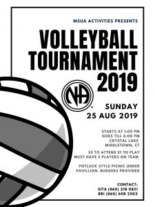 Middletown Sunday NA Volleyball Tournament @ Crystal Lake | Middletown | Connecticut | United States