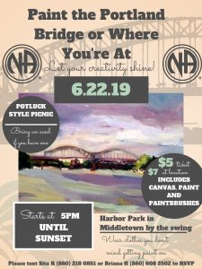 Paint the Portland Bridge or Where You're At @ Harbor Park   Middletown   Connecticut   United States