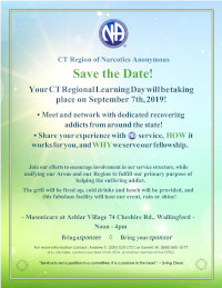 CTRSC Learning Day / BBQ @ Masonicare at Ashlar Village | Wallingford | Connecticut | United States