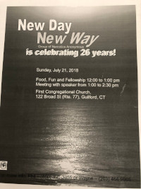 New Day New Way Group 26th Anniversary @ First Congregational Church | Guilford | Connecticut | United States