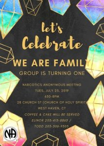 We Are Family Group One Year Anniversary @ Church of the Holy Spirit | West Haven | Connecticut | United States
