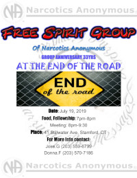 Free Spirit Group 33yr Anniversary @ New Life House | Stamford | Connecticut | United States