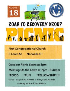 Road To Recovery Picnic @ First Congregational Church | Norwalk | Connecticut | United States