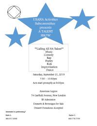 USANA Presents A TALENT SHOW @ American Legion | New London | Connecticut | United States
