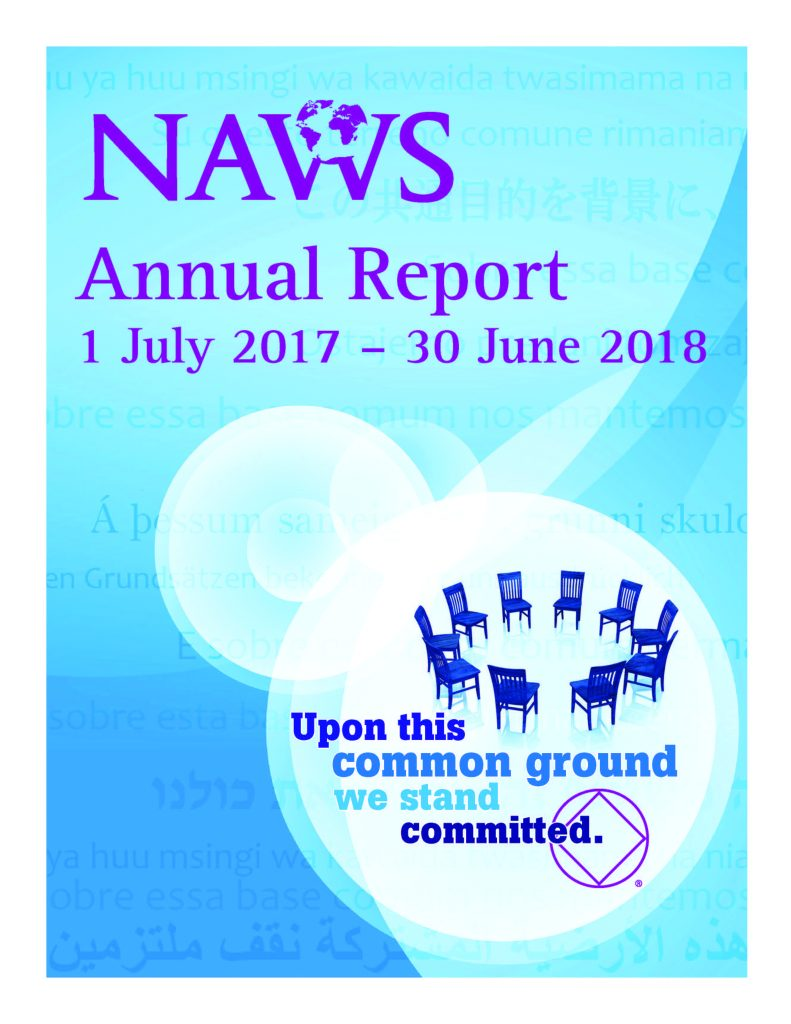 NAWS 2017 - 2018 Annual Report