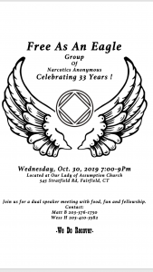 Free As An Eagle Group Celebrating 33 Years @ Our Lady Of Assumption Church | Fairfield | Connecticut | United States