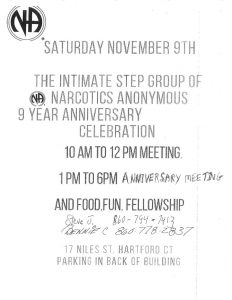 The Intimate Step Group 9 Year Anniversary @ Institute of Health & Healing | Hartford | Connecticut | United States