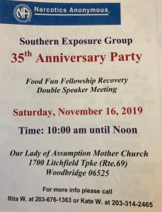 Southern Exposure Group 35th Anniversary Party @ Our Lady of the Assumption | Woodbridge | Connecticut | United States