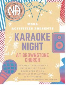 MSUA Karaoke Night @ Trinity Episcopal Church | Portland | Connecticut | United States