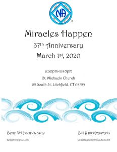 Miracles Happen 37th Anniversary @ Saint Michaels Church | Litchfield | Connecticut | United States