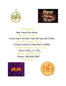 TVA New Years Eve Dance @ Our Lady of Mercy Church | Plainville | Connecticut | United States