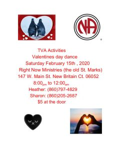 TVA Valentines Day Dance @ Right Now Ministries (Old St Marks) | New Britain | Connecticut | United States