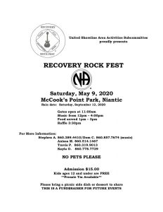 Recovery Rock Fest 2020 @ McCook's Point Park | East Lyme | Connecticut | United States