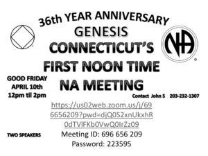 Genesis 36th Year Virtual Anniversary @ Meets Virtually   San Jose   California   United States