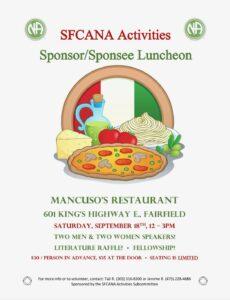Sponsor/Sponsee Luncheon @ Mancuso's Restaurant | Fairfield | Connecticut | United States