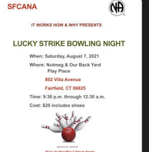 Lucky Strike Bowling Night @ Nutmeg & Our Back Yard Play Place | Fairfield | Connecticut | United States