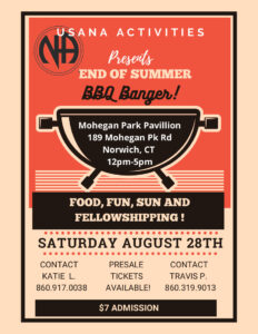 USA End of Summer BBQ @ Mohegan Park Pavillion | Norwich | Connecticut | United States
